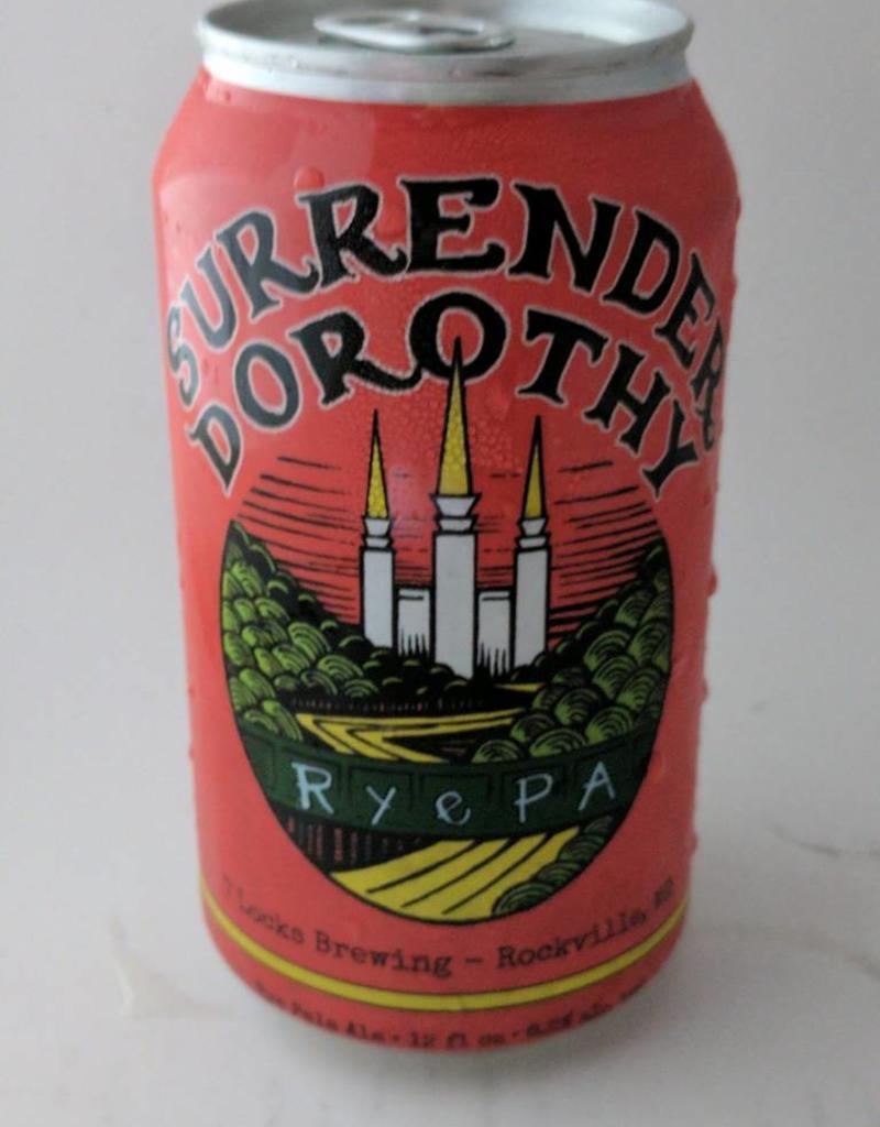 "7 Locks Brewing 7 Locks Brewing ""Surrender Dorothy"" Rye PA 6pk cans"
