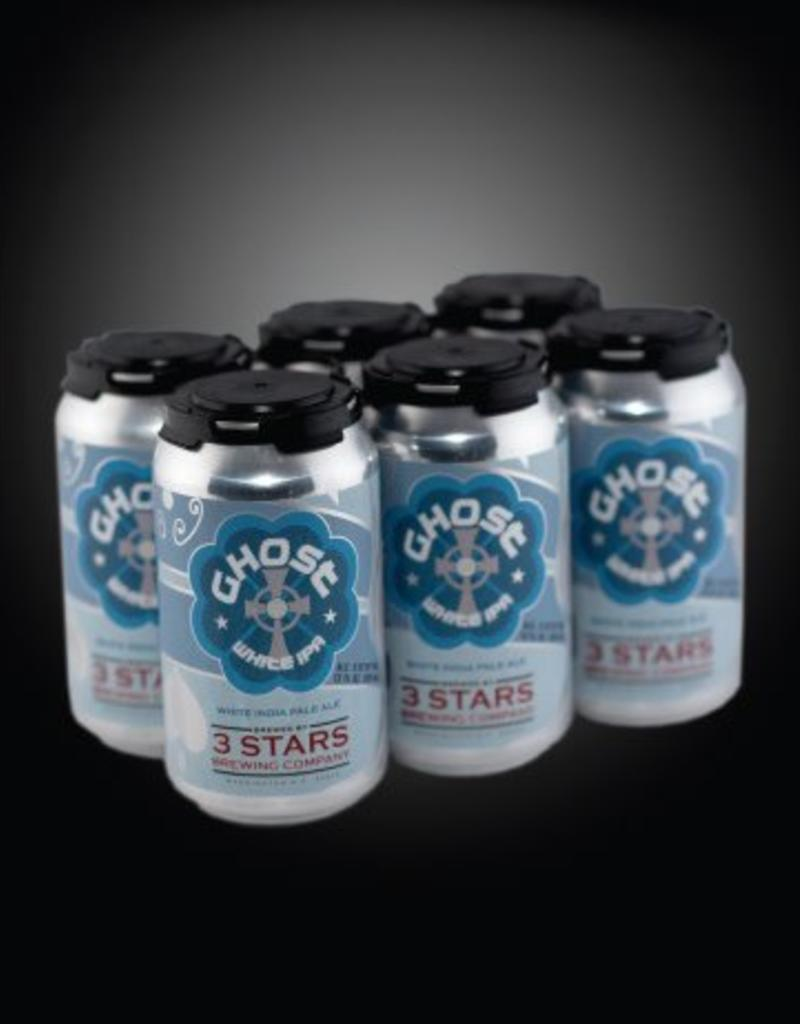 3 Stars Brewing Co 3 Stars Ghost White IPA 6pk 12 oz. cans
