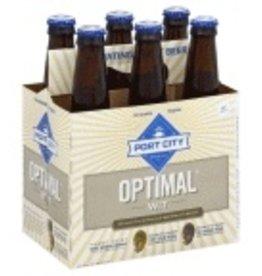 Port City Optimal Wit 6pk  12 oz. bottles