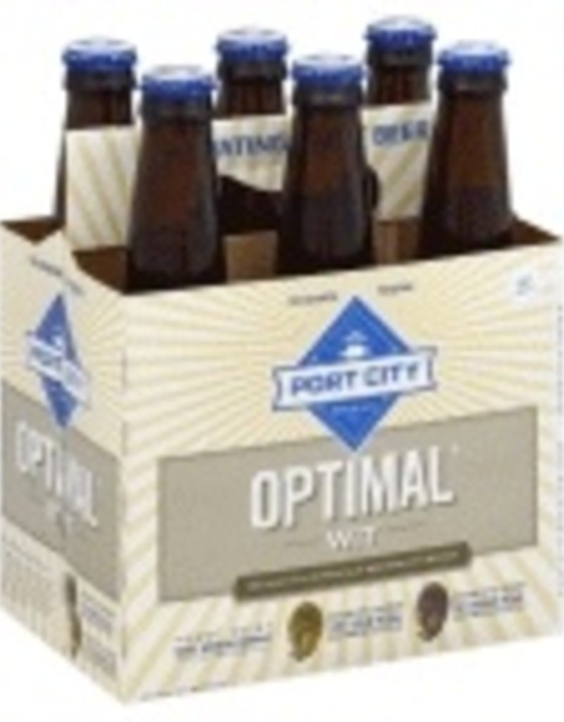 Port City Optimal Wit 6pk  12 oz. bottles