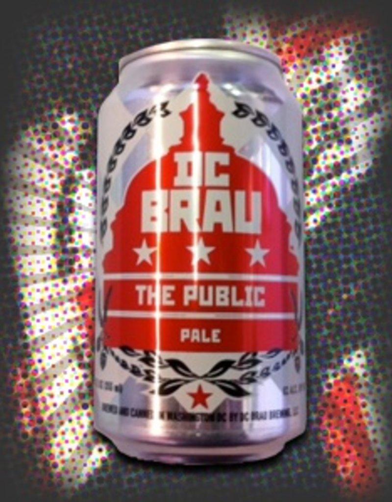 DC  Brau Brewing Company DC Brau Public 6pk 12 oz. cans