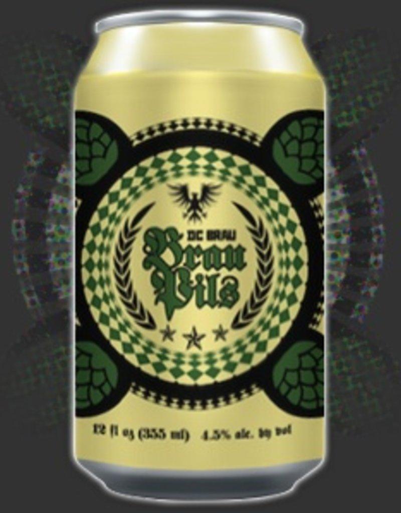 DC  Brau Brewing Company DC Brau Pils  6pk 12 oz. cans