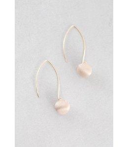 Lovoda Makena Threader Earrings Tan