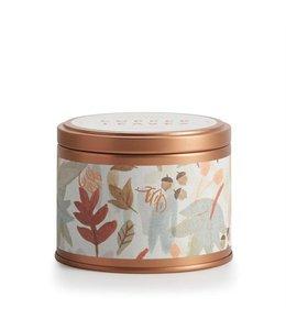 illume Copper Leaves Tin Candle