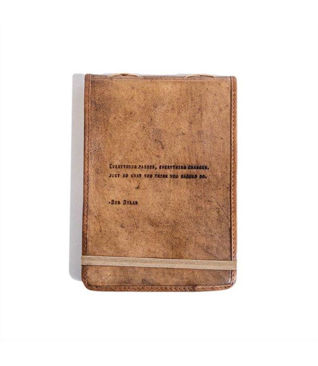 Leather Journal Bob Dylan 7x9.75