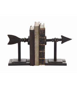 Creative Co-Op Cast Metal Arrow Bookends