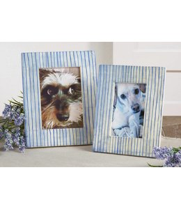 Blue Line Photo Frame 4x6