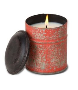 Himalayan Trading Anise/Black Pepper Spice Tin Orange Candle