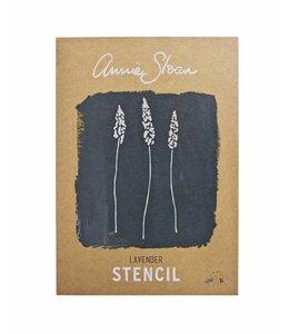 Annie Sloan Unfolded Lavender Stencil