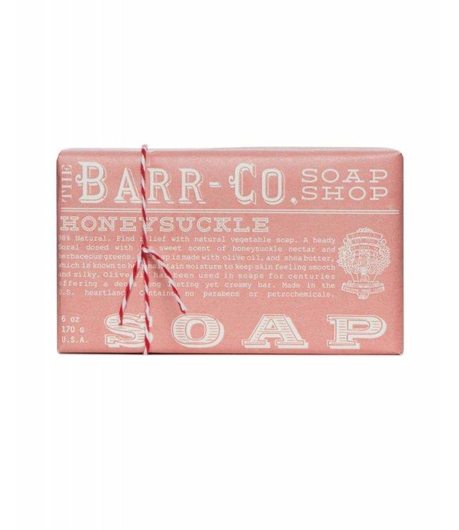 Barr Co. Honeysuckle Triple Milled Bar Soap