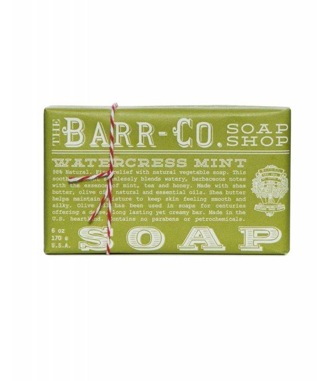 Barr Co. Watercress Mint Triple Milled Bar Soap