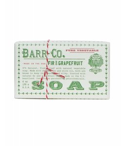 Barr Co. Fir & Grapefruit Triple Milled Bar Soap