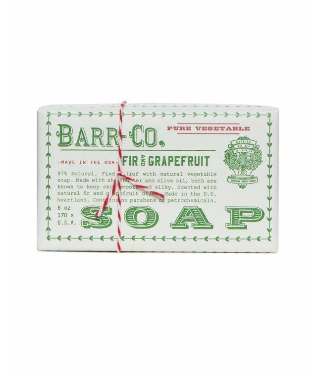 Barr Co. Fir & Grapefruit Triple Milled Bar Soap