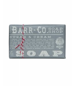 Barr Co. Sugar & Cream Triple Milled Bar Soap