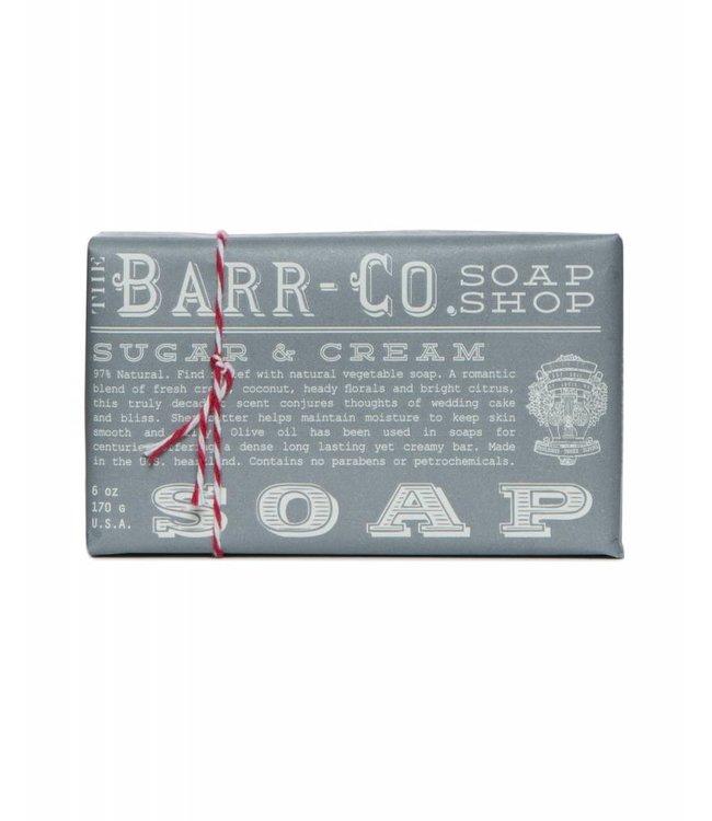 Barr Co. Sugar & Cream Triple Milled Bar Soap