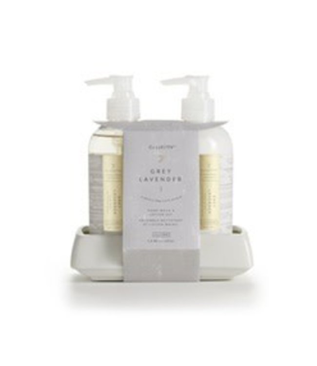 illume Grey Lavender Hand Wash & Lotion Set