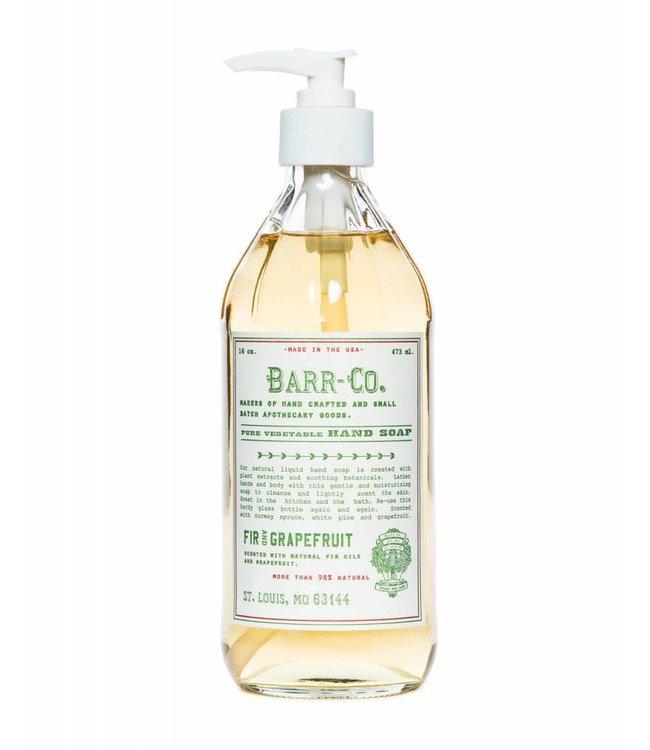 Barr Co. Fir and Grapefruit Liquid Hand Soap