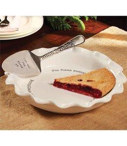Mud Pie Circa Pie Plate & Server Set