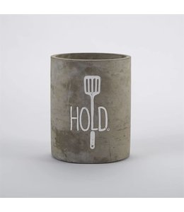 Mud Pie Hold Utensil Crock