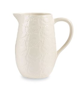 Mud Pie Pressed Stoneware Pitcher