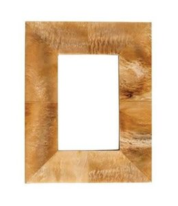 Creative Co-Op Natural Horn Photo Frame 7 x 9