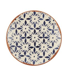 Mud Pie Bungalow Salad Plate 8.5""