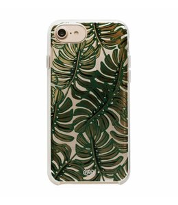Clear Monstera Phone Case