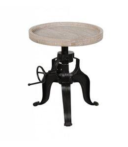 Dover Round Crank Table