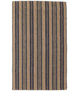 Seagrass Cabana Stripe Navy 5x8