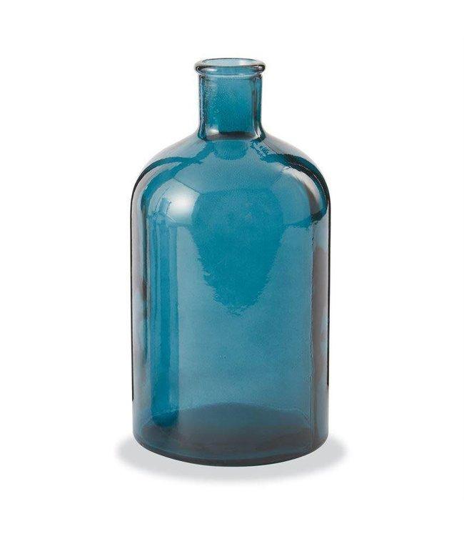 Mud Pie Blue Bottle Vase