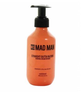 Mad Style Straight Outta Razors Shaving Cream