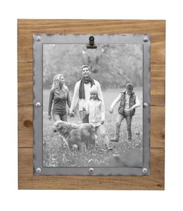 Foreside Home & Garden Carson Photo Frame with Clip - 8x10