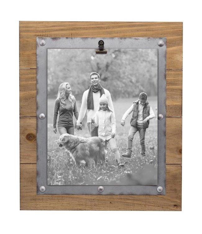 Foreside Home & Garden Carson Photo Frame with Clip - 8x10