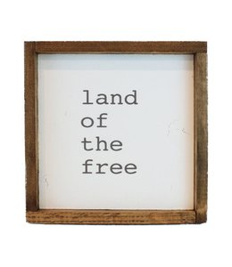 12x12 Printed Art - Land of the Free