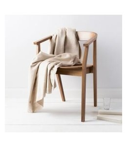Thalia Silk Beige Throw