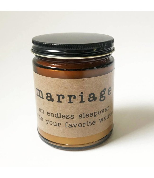 Stash Style Marriage Candle
