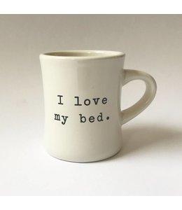 Stash Style Love My Bed Mug