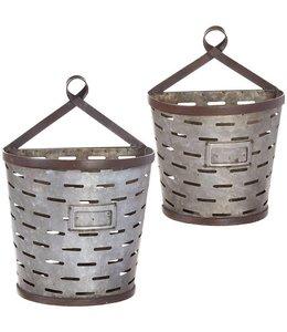 Metal Wall Bucket