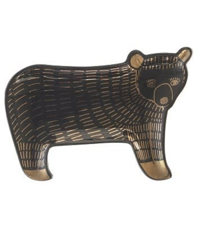 Trinket Tray Ceramic Bear