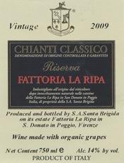 Wine Fattoria La Ripa Chianti Classico Riserva 2010