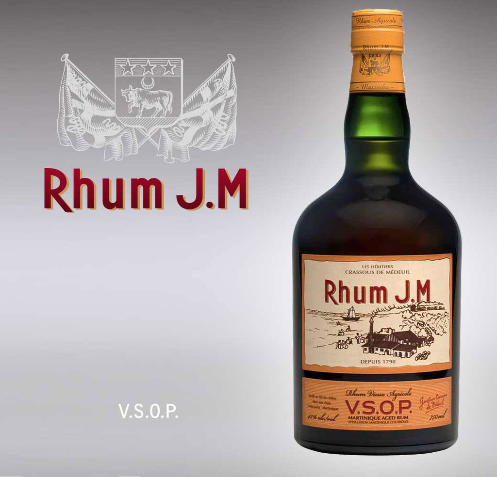 Spirits Rhum JM VSOP Vieux Rhum Agricole 86 Proof