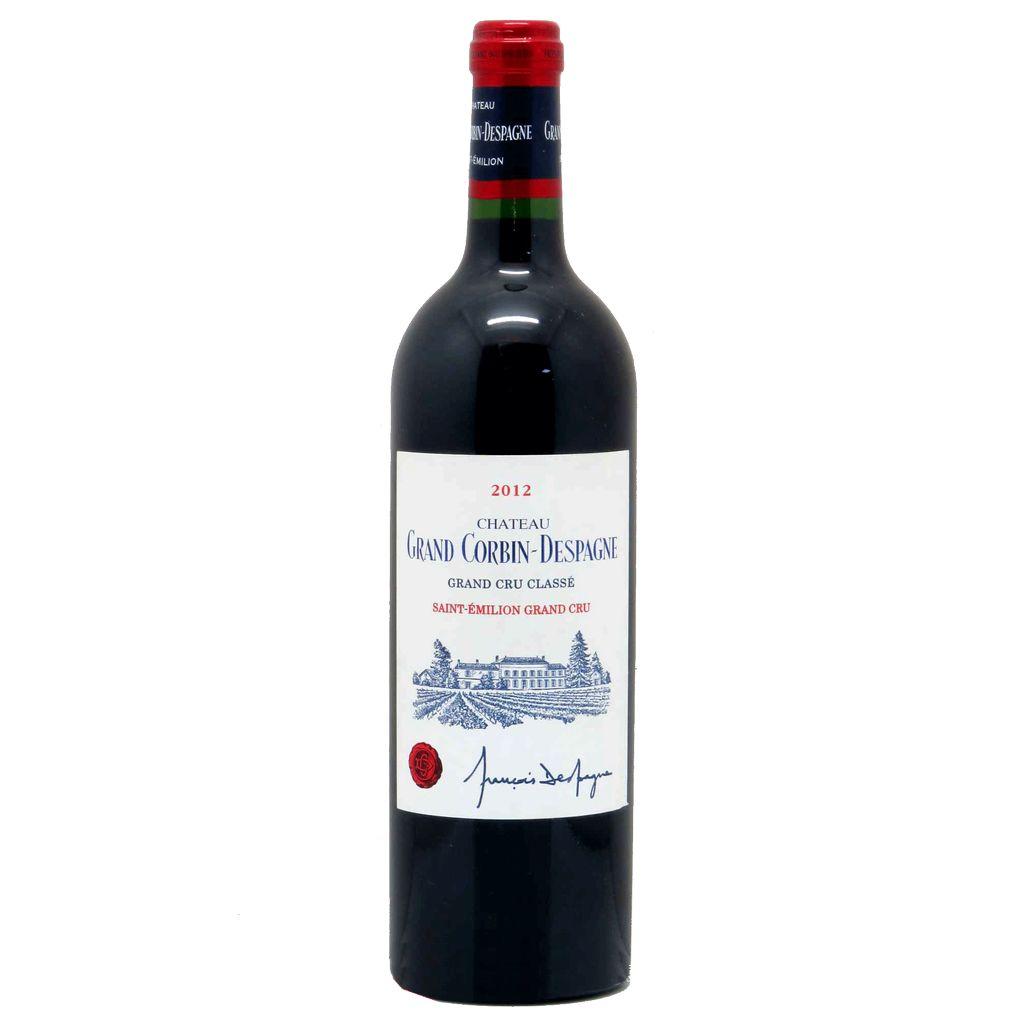 Wine Chateau Grand Corbin Despagne 2012
