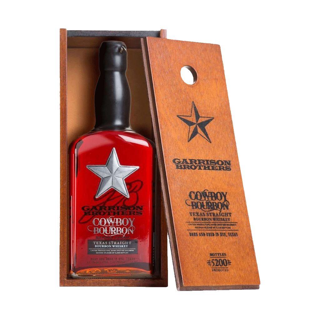 Spirits Garrison Brothers Cowboy Texas Bourbon Gift Box 134 Proof
