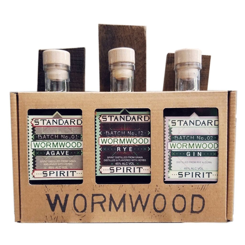 Spirits Standard Distillery Wormwood Gift Pack 200ml x 3