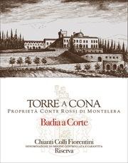 Wine Torre a Cona Chianti Colli Fiorentini Riserva Badia a Corte 2013