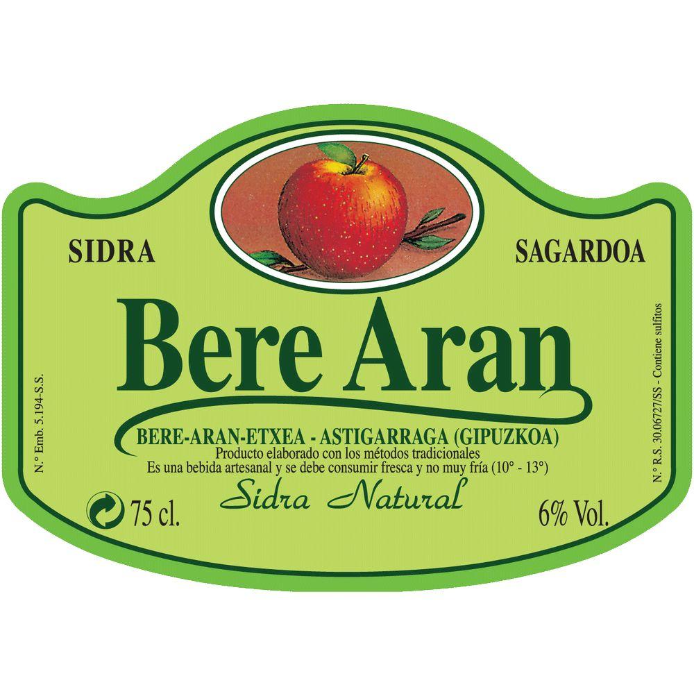 Sparkling Bere Aran Sidra Natural