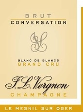 Sparkling Champagne JL Vergnon Champagne Grand Cru Brut Conversation Blanc de Blancs