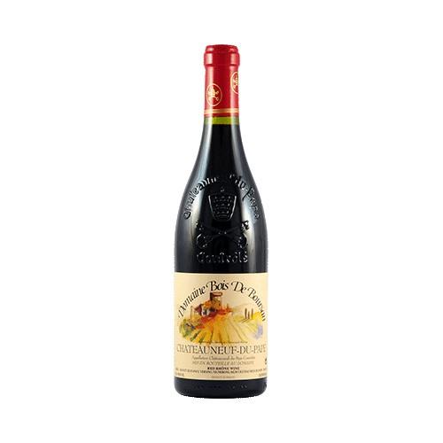 Wine Domaine Bois de Boursan Chateaneuf du Pape Rouge Tradition 2015