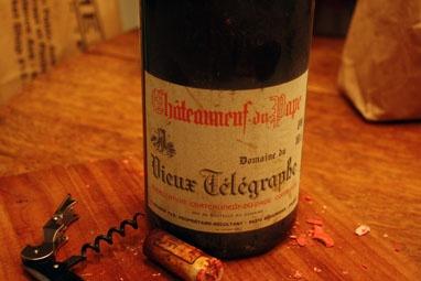 Wine Domaind du Vieux Telegraphe Chateauneuf du Pape Rouge 2016