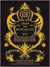Wine La Croix De Beaucaillou 2012 1.5L